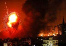رژیم صهیونیستی نقاط متعددی در غزه را هدف قرار داد