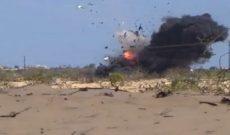 انفجار خط آهن شمال آققلا برای تسریع در روند خروج سیلاب از شهر