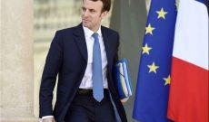 نگراني ماکرون از انتخابات پارلماني اروپا