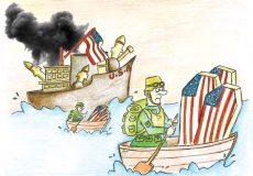 كاريكاتور -مينا غلامرضايي