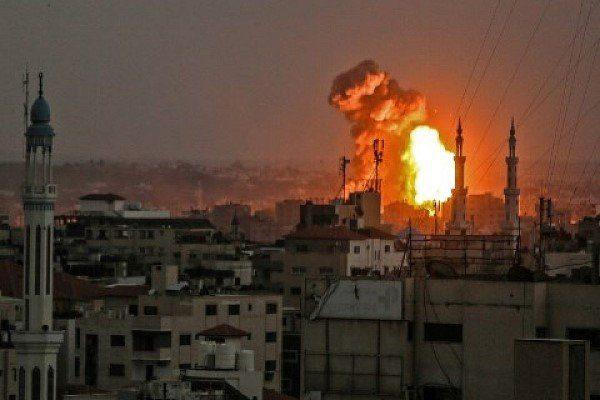 حمله هوایی رژیم صهیونیستی به شمال غزه