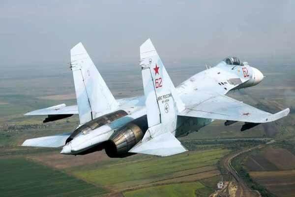 رهگیری یک هواپیمای جاسوسی آمریکا از سوی جنگنده روس