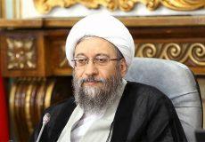 انتقاد آملی لاریجانی از سخنان رئیس جمهور