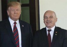 درخواست ترامپ از رئیسجمهور سوئیس برای میانجیگری بین تهران و واشنگتن