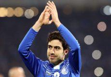 خداحافظی خسرو حیدری از فوتبال