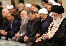 مراسم سوگواری شهادت امیرالمؤمنین(ع) با حضور رهبر انقلاب برگزار شد