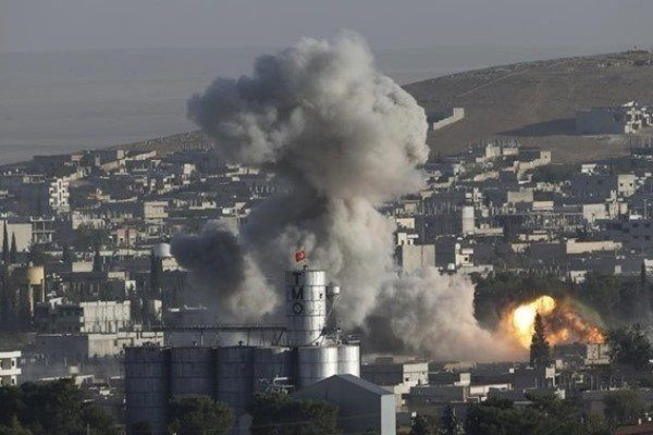 پدافند هوایی ارتش سوریه پهپاد اسرائیلی را ساقط کرد
