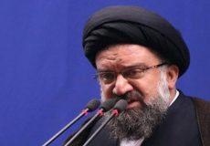 آیت الله خاتمی:اظهارات رهبر انقلاب در دیدار با آبه «زیرکانه» بود