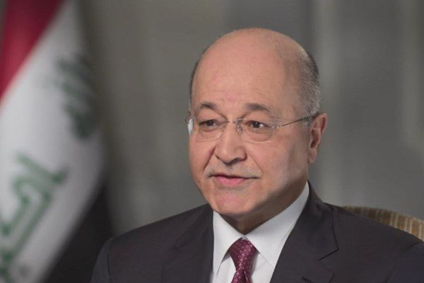 رئیسجمهور عراق: کشورمان نباید پایگاهی برای اقدام علیه ایران باشد