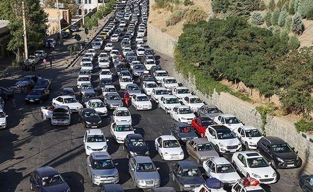 ترافیک سنگین در همه محورهای منتهی به شمال