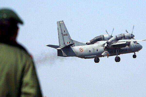هواپیمای نظامی هند در مرز چین ناپدید شد