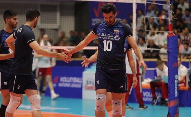 جدول لیگ ملتهای والیبال؛ ایران همچنان در صدر باقی ماند