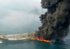 رئیس شرکت نفتکش ژاپنی: دو «شی پرنده» به نفتکش ژاپنی صدمه زدند