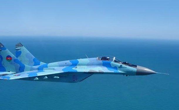 یک فروند میگ-۲۹ آذربایجان در دریای خزر سقوط کرد
