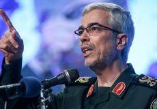 سرلشکر باقری: اقدامات روزهای اخیر صهیونیستها را سر عقل خواهد آورد
