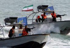 توقیف یک کشتی خارجی در خلیجفارس توسط سپاه