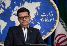 موسوی: نباید از وزارت خارجه توقع حرف و عمل شدید و غلیظ داشته باشید