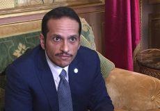 وزیر خارجه قطر: ایران با وجود تحریمها وارد مذاکره با آمریکا نمیشود