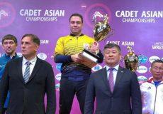 کشتی فرنگی نوجوانان قهرمانی آسیا