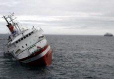 باکو: کشتی ایرانی در خزر غرق شد/ ۹ نفر را نجات دادیم