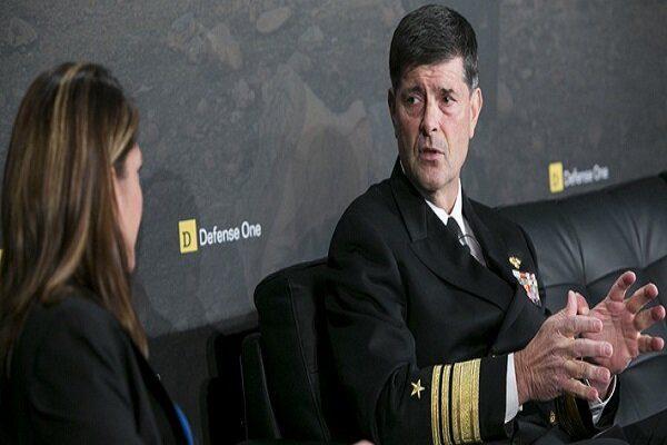 فرمانده نیروی دریایی آمریکا نیامده استعفا کرد