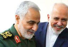 سرلشکر سلیمانی در دیدار ظریف: اقدام آمریکا علیه شما نشانه شکست کاخ سفید است