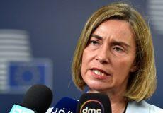 موگرینی: برجام، قطعنامه شورای امنیت است، نه توافقی بینالمللی