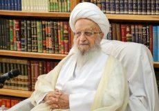 آیتالله مکارم شیرازی: شرکت رئیس جمهور در برخی مجالس ناراحتکننده است