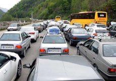 ترافیک سنگین در ورودیهای شرقی پایتخت