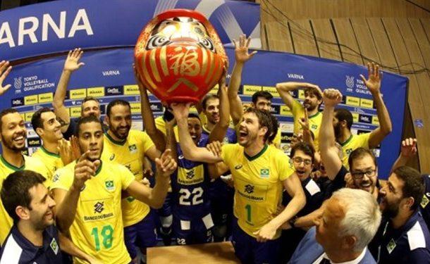 والیبال انتخابی المپیک| ۶ تیم به توکیو رسیدند؛ صعود رویایی برزیل/ایران در صف انتظار