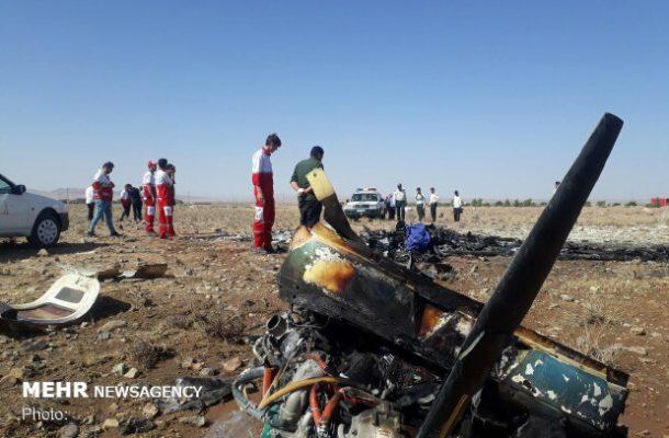 سقوط هواپیمای آموزشی در گرمسار / ۲ نفر جان باختند