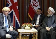 روحانی در دیدار نخست وزیر انگلیس:اروپا به تعهدات خود در برجام پایبند باشد