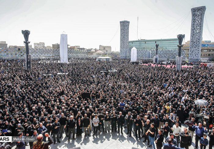 عاشورای حسینی در تهران