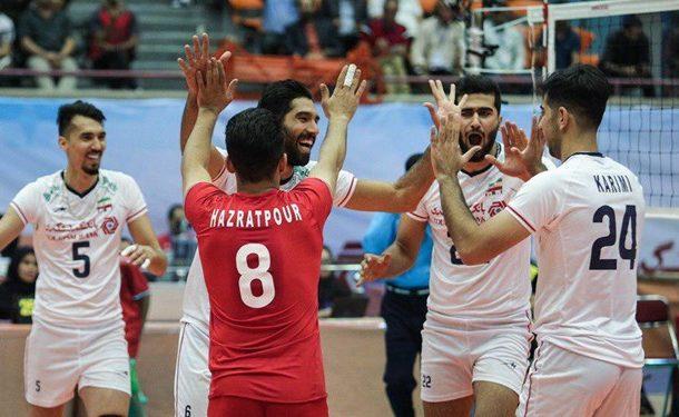 والیبال قهرمانی آسیا| ایران فینالیست شد/ یک گام تا هتتریک قهرمانی