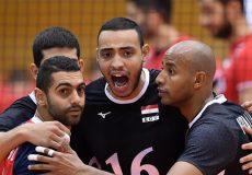 جامجهانی والیبال| شکست ناباورانه برابر مصر