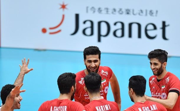 پیروزی تیم ملی والیبال ایران برابر استرالیا
