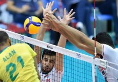 جامجهانی والیبال| ایران، بازنده سربلند مقابل برزیل