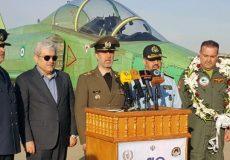 وزیر دفاع: طراحی و ساخت جت آموزشی پیشرفته «یاسین» نماد بارز شکست تحریمها است