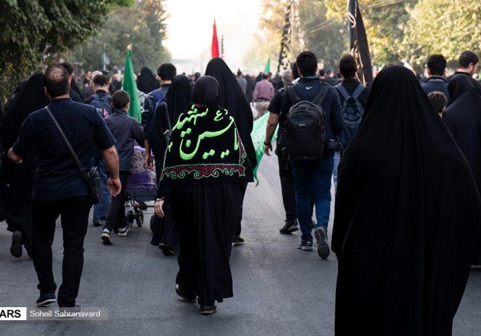 جاماندگان اربعین در تهران