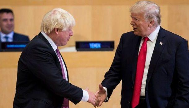 خشم ترامپ از بلاتکلیفی سیاسی در لندن