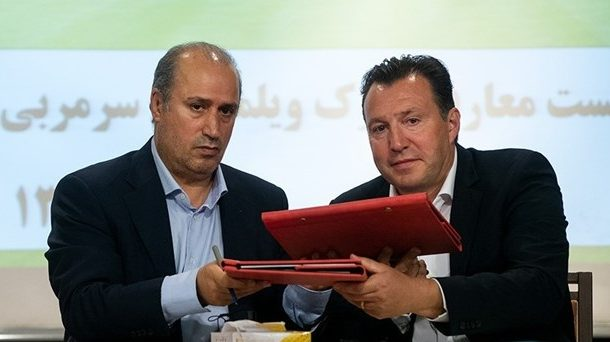 سخنگوی فدراسیون فوتبال: ویلموتس کمتر از قراردادش در ایران حضور داشت