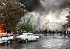 آتش زدن ۸۰ فروشگاه زنجیرهای در اغتشاشات بنزینی