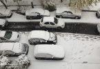 برف و ترافیک تهران