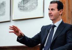 اسد: آمریکا نفت سوریه را سرقت میکند و به ترکیه میفروشد