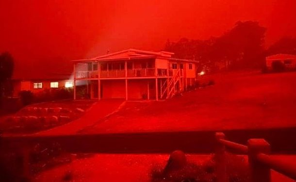 چهار هزار نفر در یک شهر ساحلی محاصره شدند