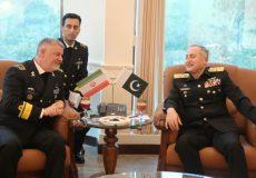 توسعه همکاری نیروی دریایی ایران و پاکستان