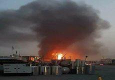 برخورد چند راکت در نزدیکی سفارت آمریکا در بغداد