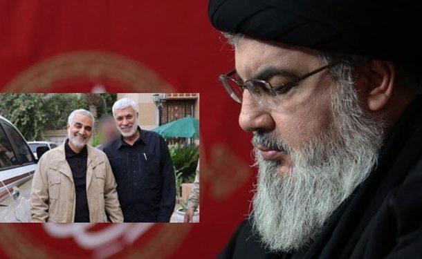 پیام نصرالله درباره ترور سردار سلیمانی: به این شهادت باعظمت غبطه میخورم