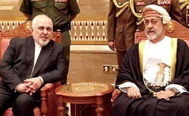 دیدار ظریف با سلطان جدید عمان