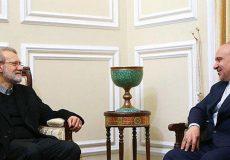لاریجانی: رفتار مجامع بینالمللی نسبت به ورزش ایران بیطرفانه باشد
